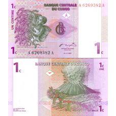 Kongo 1997 1 Centime P80 UNC