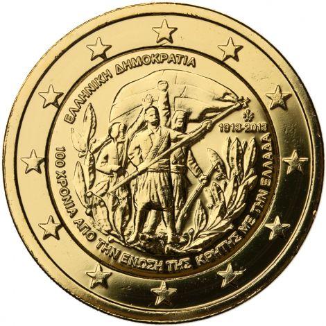 Kreikka 2013 2 € Kreeta KULLATTU