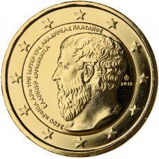Kreikka 2013 2 € Platonin Akatemia KULLATTU