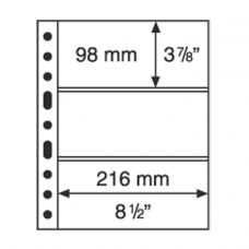 Säilytyslehti, Leuchtturm GRANDE 3S musta (305160)