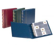Keräilykansio, Leuchtturm OPTIMA Classic rahakehyksille - sininen (312455)