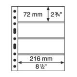 Säilytyslehti, Leuchtturm GRANDE 4S musta (312682)