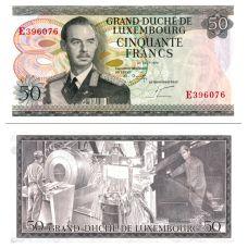 Luxemburg 1972 50 Francs P55b UNC
