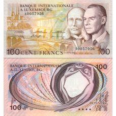Luxemburg 1981 100 Francs P14A UNC