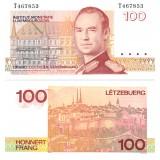 Luxemburg 1986 100 Francs P58b UNC