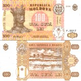 Moldova 2008 100 Lei P15b UNC