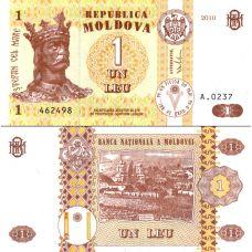 Moldova 2010 1 Leu P8h1 UNC