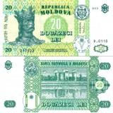 Moldova 2010 20 Lei P13h UNC
