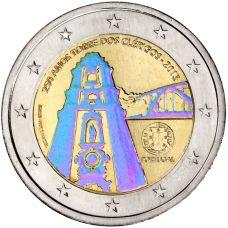 Portugali 2013 2 € Torre dos Clérigos Hologrammi VÄRITETTY