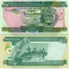Salomonsaaret 2004 2 Dollars P25a UNC
