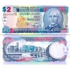 Barbados 2007 2 Dollars P66b UNC