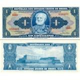 Brasilia 1954-58 1 Cruzeiro P150b UNC