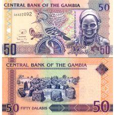 Gambia 2013 50 Dalasis P28c UNC