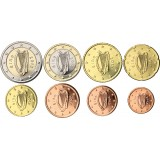 Irlanti 2013 1 c – 2 € Irtokolikot UNC
