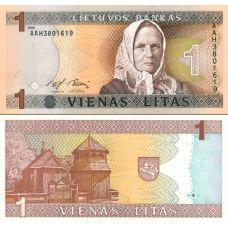 Liettua 1994 1 Litas P53 UNC