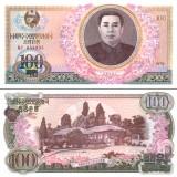 Pohjois-Korea 1978 100 Won P22 UNC