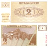 Slovenia 1990 2 Tolarja P2 UNC