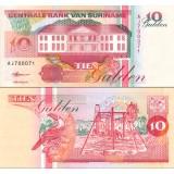 Suriname 1998 10 Gulden P137b UNC