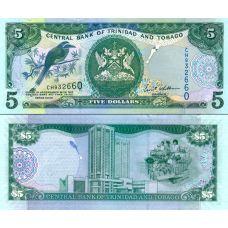 Trinidad ja Tobago 2006 5 Dollars P47 UNC