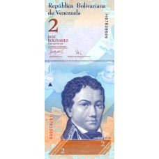 Venezuela 2007 2 Bolivares P88b UNC