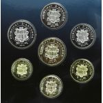 Andorra 2013 Last National Coin Set Rahasarja UNC