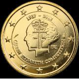 Belgia 2012 2 € Kuningatar Elisabeth -musiikkikilpailu 75 vuotta KULLATTU