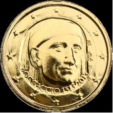 Italia 2013 2 € Giovanni Boccaccio KULLATTU