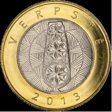 Liettua 2013 2 Litiä Verpste (värttinä) UNC