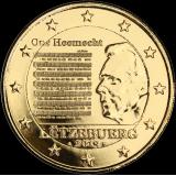 Luxemburg 2013 2 € Suuriruhtinaskunnan kansallislaulu KULLATTU