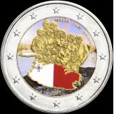 Malta 2013 2 € Itsehallinto 1921 VÄRITETTY