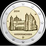 Saksa 2014 2 € Pyhän Mikaelin kirkko A UNC