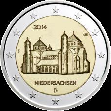 Saksa 2014 2 € Pyhän Mikaelin kirkko F UNC