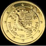 Suomi 2005 2 € YK KULLATTU