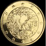 Suomi 2008 2 € Ihmisoikeuksien julistuksen 60. juhlavuosi KULLATTU