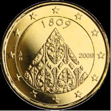 Suomi 2009 2 € Suomen autonomia 200v KULLATTU