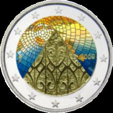 Suomi 2009 2 € Suomen autonomia 200v VÄRITETTY
