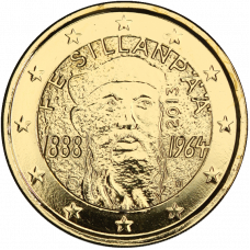 Suomi 2013 2 € F.E. Sillanpään syntymästä 125 vuotta KULLATTU