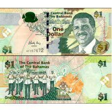 Bahama 2008 1 Dollar P71 UNC