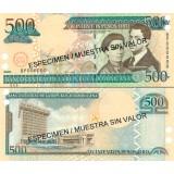 Dominikaaninen tasavalta 2003 500 Pesos Oro P172bS SPECIMEN UNC