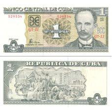 Kuuba 2008 1 Peso P128d UNC