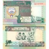 Kuwait 1994 1/2 Dinar P24f UNC