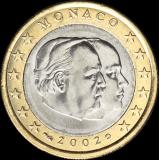 Monaco 2002 1 € UNC