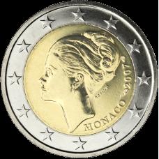 Monaco 2007 2 € Grace Kelly UNC