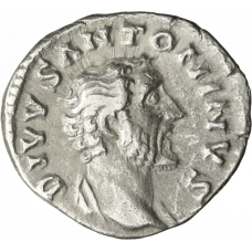Rooman valtakunta 161-180 jKr. Denaari Antoninus Pius HOPEA