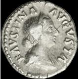 Rooman valtakunta 147-175 jKr. Denaari Faustina nuorempi HOPEA