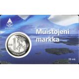 Suomi 2001 1 Markka Muistojeni Markka BU