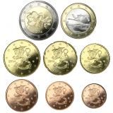 Suomi 2014 1 c – 2 € Irtokolikot UNC