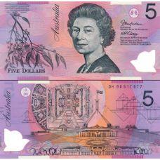 Australia 2006 5 Dollar P57d UNC