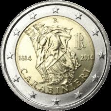 Italia 2014 2 € Carabinieri 200 vuotta UNC