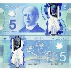 Kanada 2013 5 Dollar P106b UNC